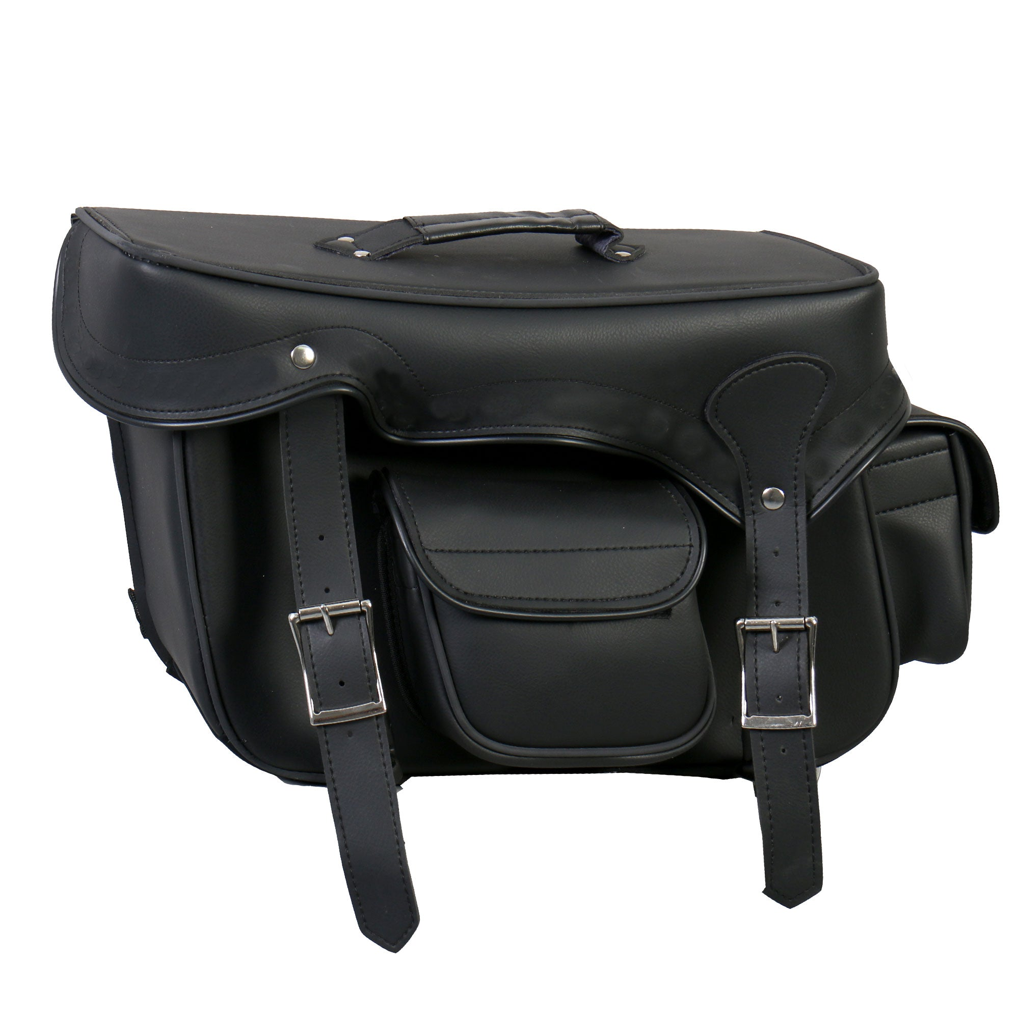 Hot Leathers Extra Large Saddle Bag with Concealed Carry Pocket