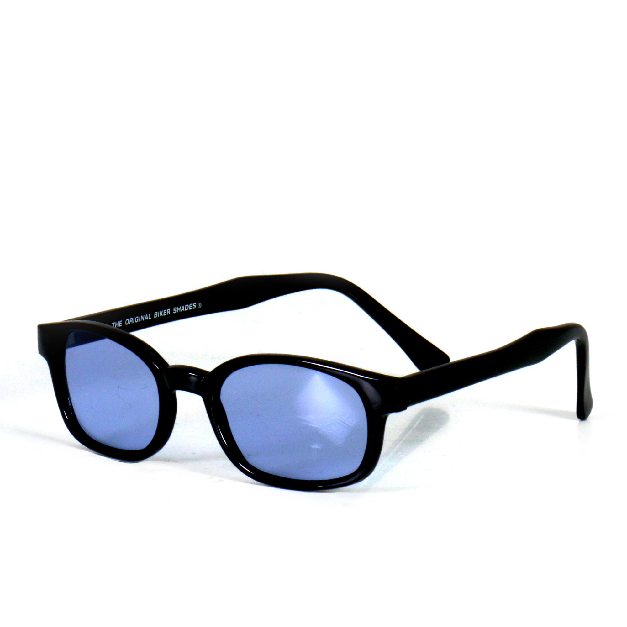 Hot Leathers KD's Sunglasses - Blue Lenses