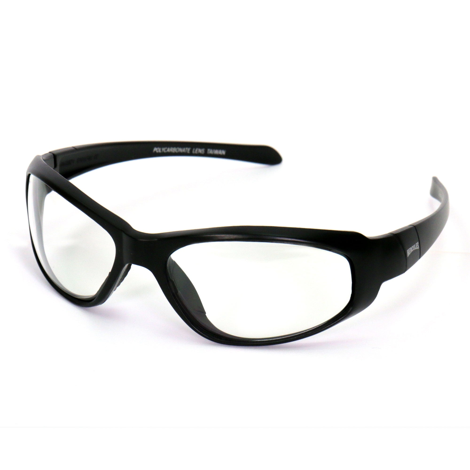 Hot Leathers Safety Hercs Safety Glasses - Clear Lenses