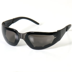 Hot Leathers Rider Plus Sunglasses w/Smoke Lenses