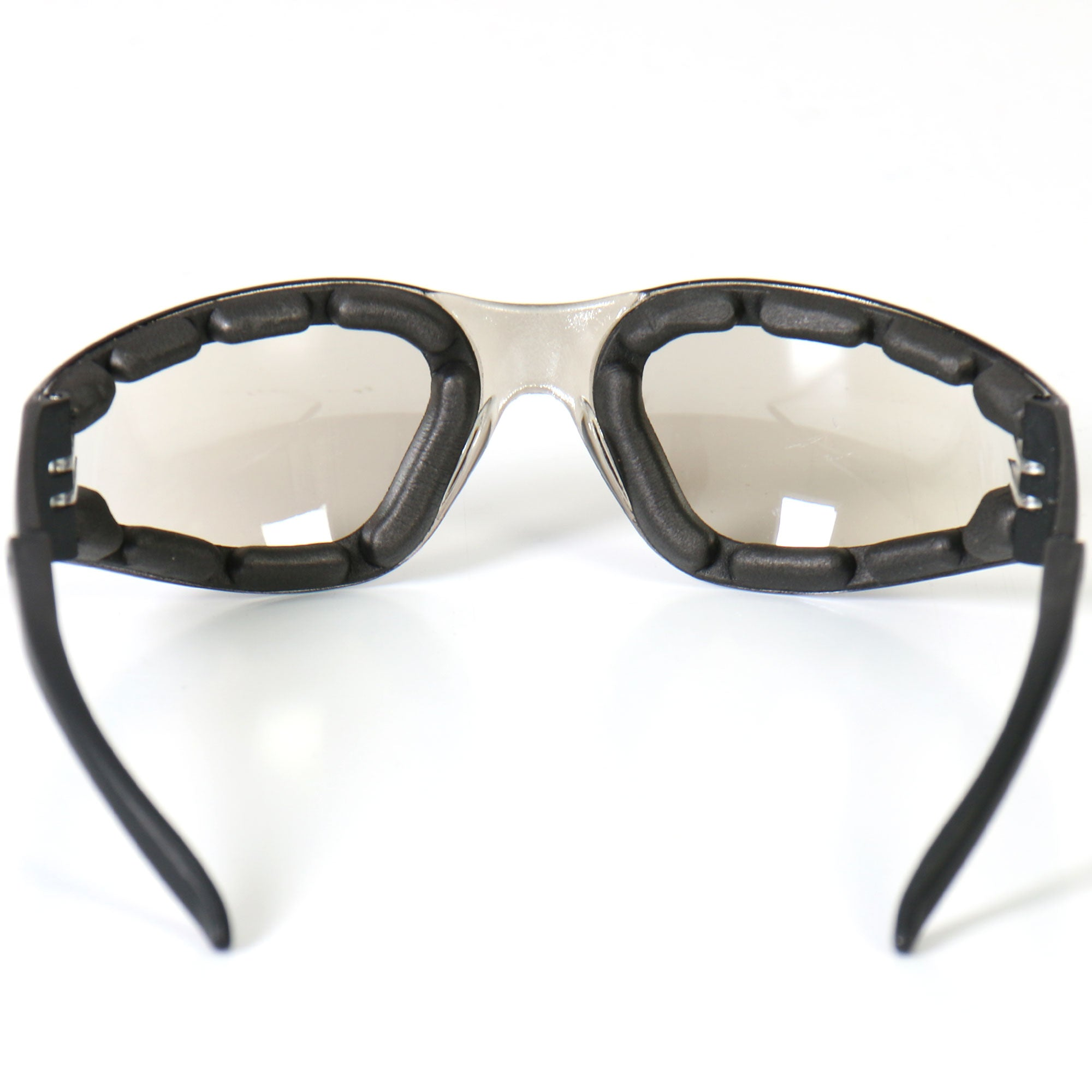 Hot Leathers Rider Plus Sunglasses w/Clear Mirror Lenses