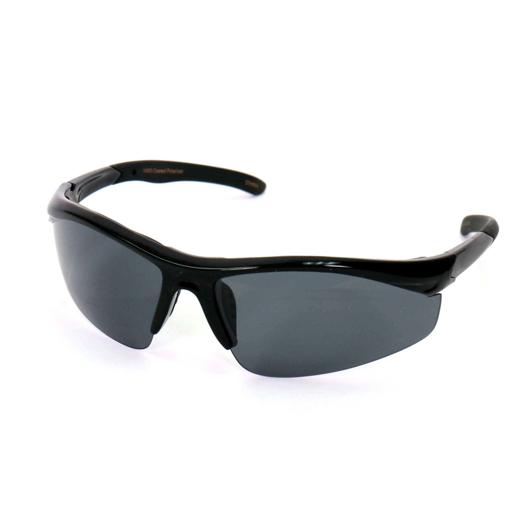 Hot Leathers Hawkeye Foam Padded Sunglasses with Smoke Lenses