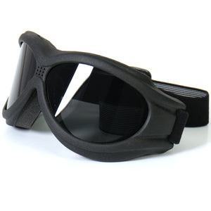 Hot Leathers Big Ben Riding Goggles with Smoke Lenses