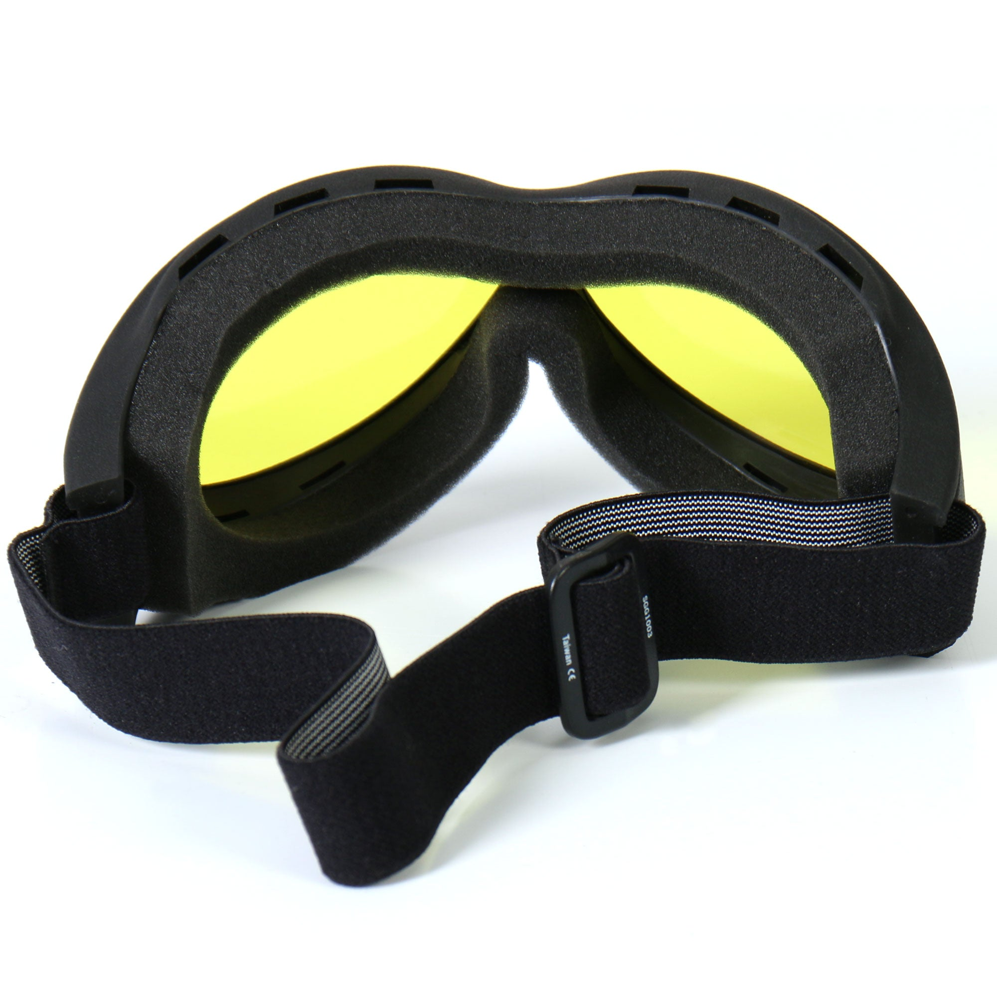 Big Ben Riding Goggles w/Yellow Lenses