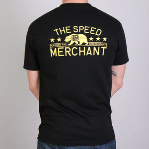 Official Speed Merchant California Bear T-Shirt