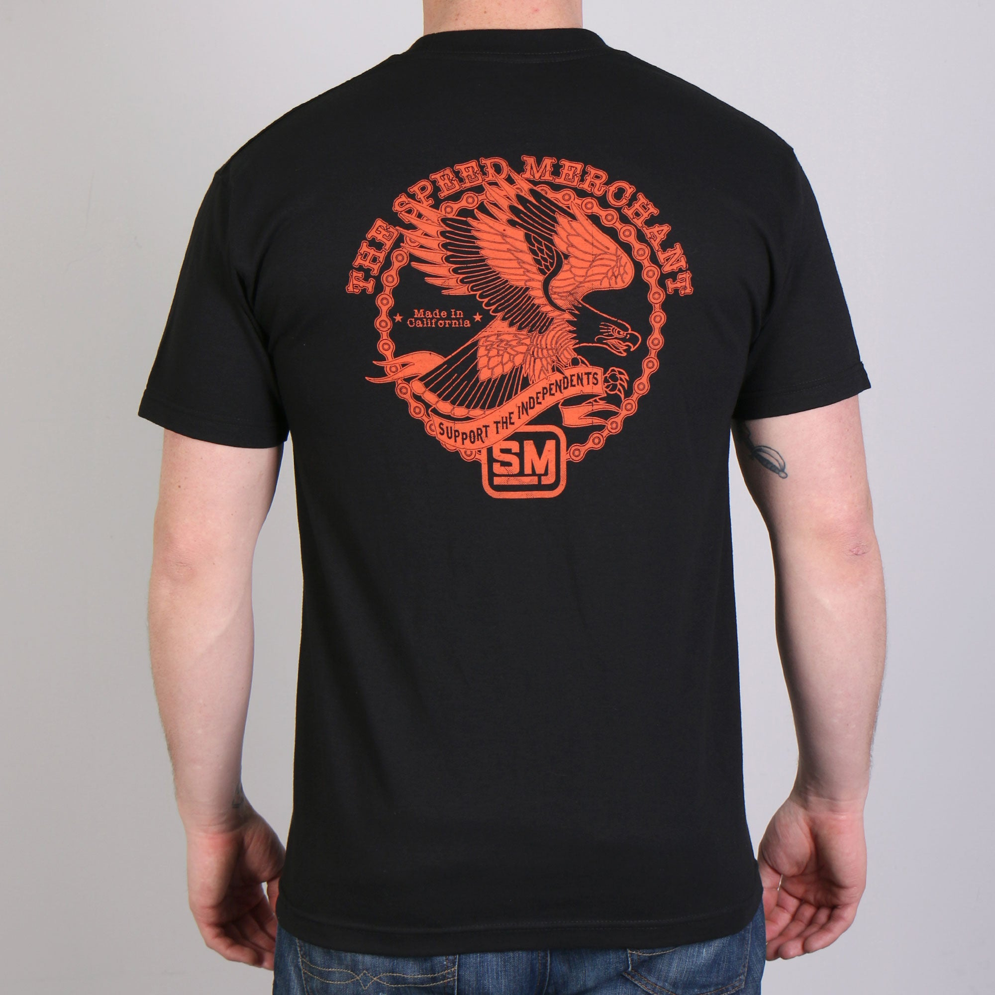 Official Speed Merchant Screaming Eagle T-Shirt