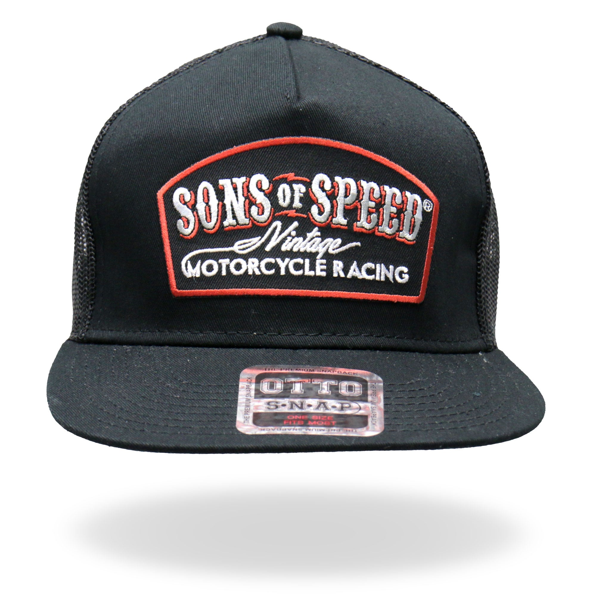 Official Sons of Speed Vintage Snap Back