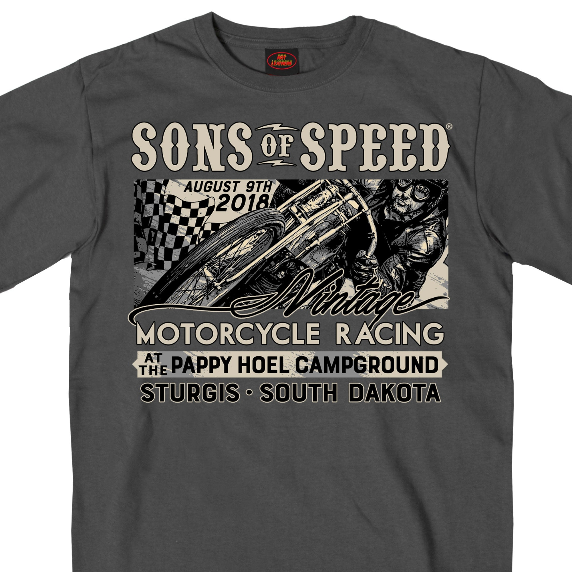 Official 2018 Sons of Speed Sturgis Race Shirt