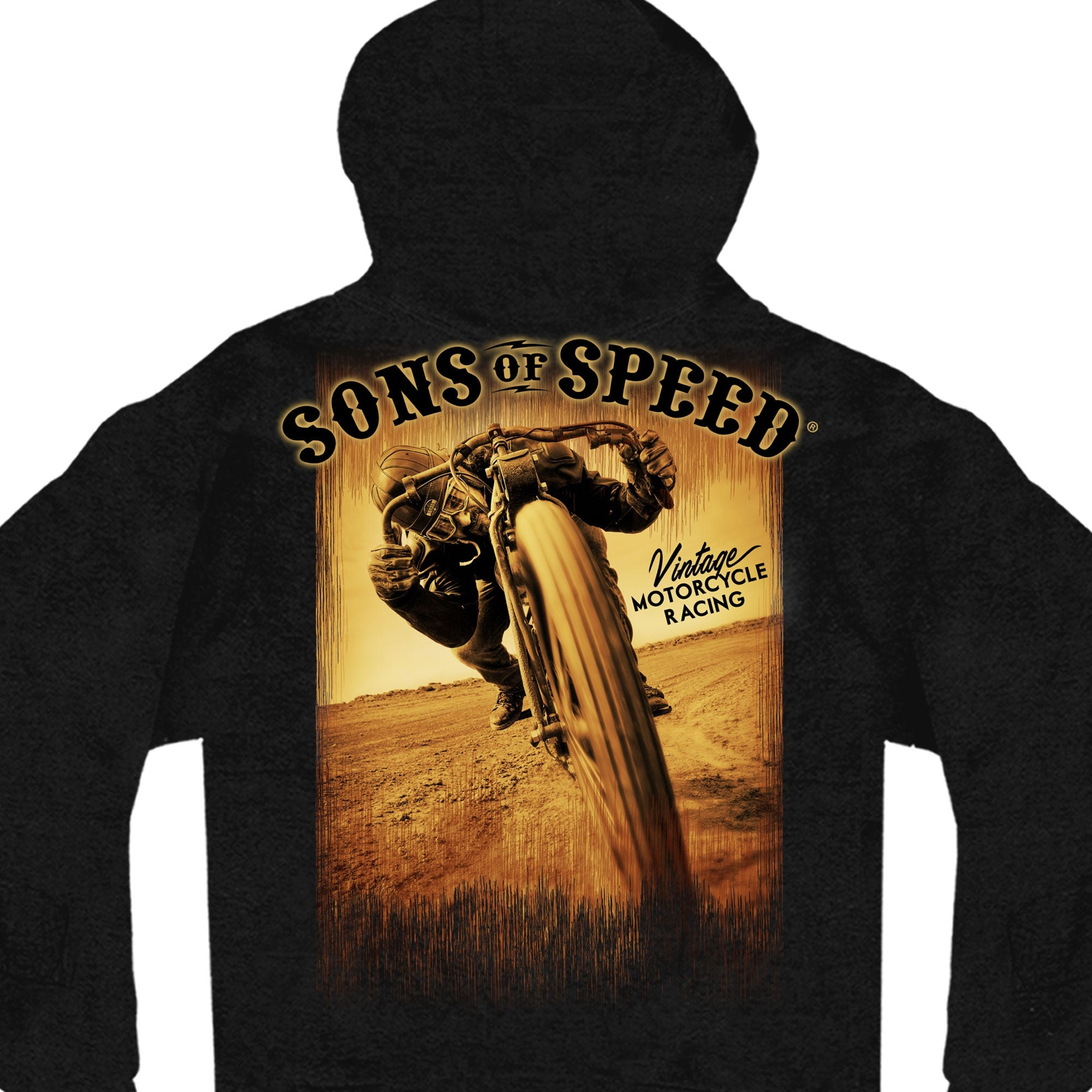 Official Sons Of Speed Zip Up Hooded Sweatshirt