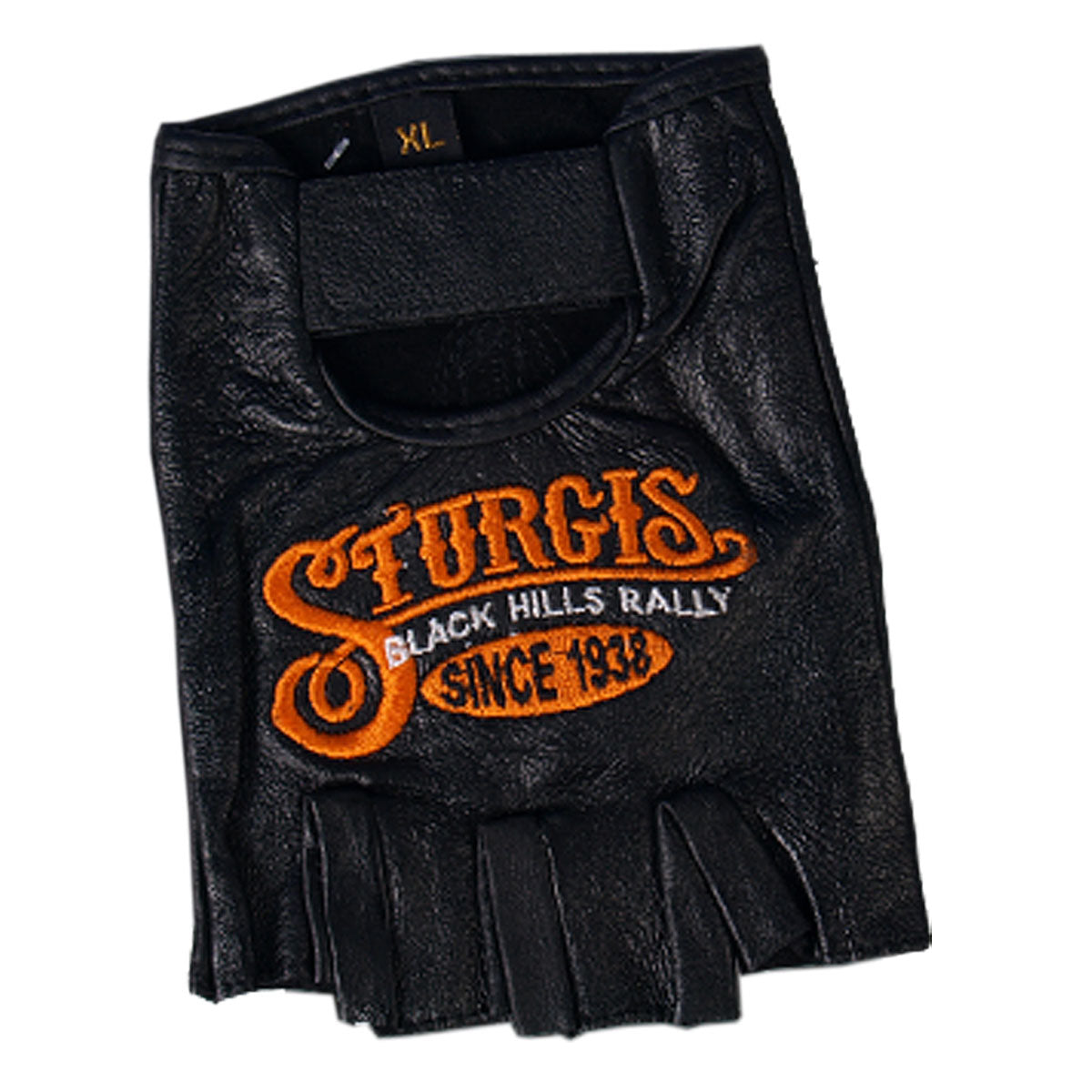 Official Sturgis Motorcycle Rally Sign Fingerless Gloves