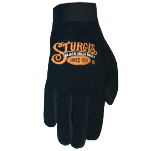 Official Sturgis Motorcycle Rally Sign Mechanics Gloves