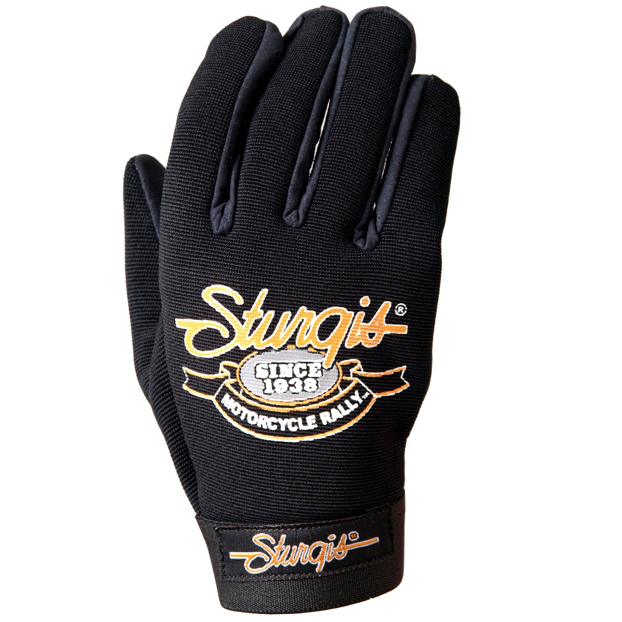 Official Sturgis Motorcycle Rally Mechanics Gloves