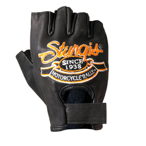 Official Sturgis Motorcycle Rally Fingerless Gloves