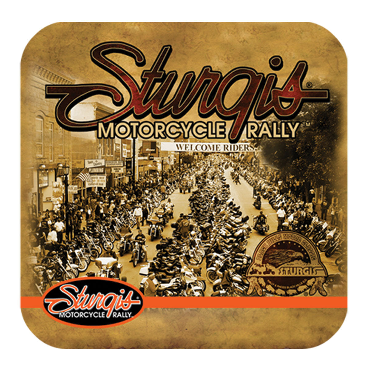 Official Sturgis Motorcycle Rally Coasters (6 Pack)