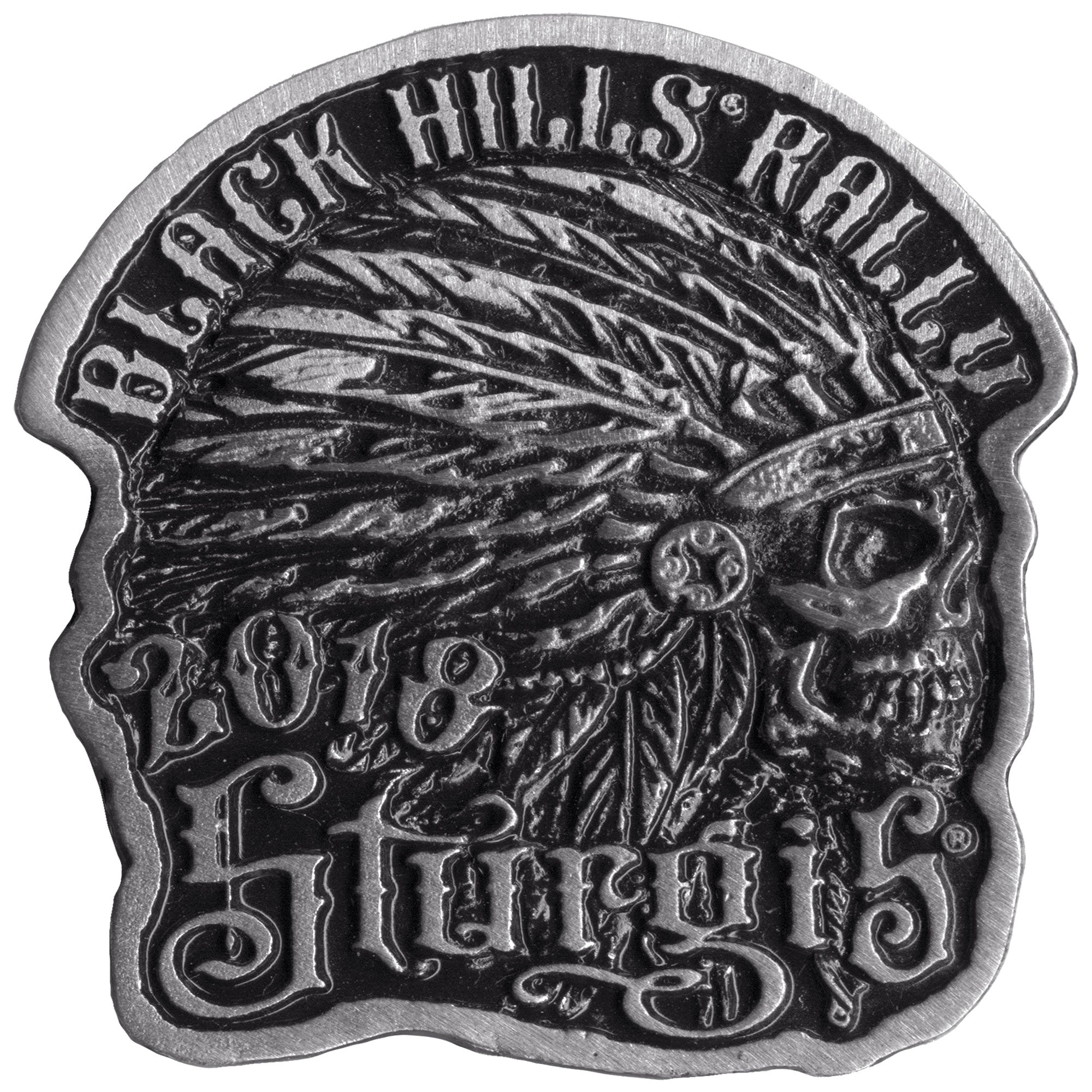 Official 2018 Sturgis Black Hills Rally Indian Pin