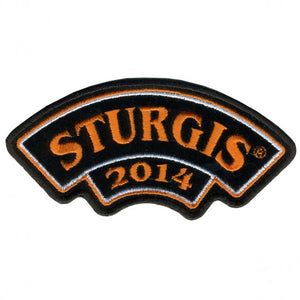 Official 2014 Sturgis Motorcycle Rally Rocker Patch