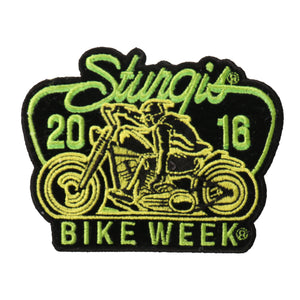 Official 2016 Sturgis Motorcycle Rally Low Rida Patch