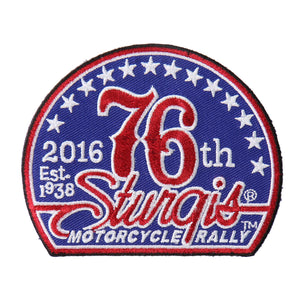 Official 2016 Sturgis Motorcycle Rally 76th Logo Patch