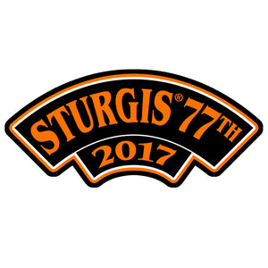 Official 2017 Sturgis Motorcycle Rally 2017 Rocker Patch