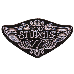 Official 2017 Sturgis Motorcycle Rally Elegant Logo Patch