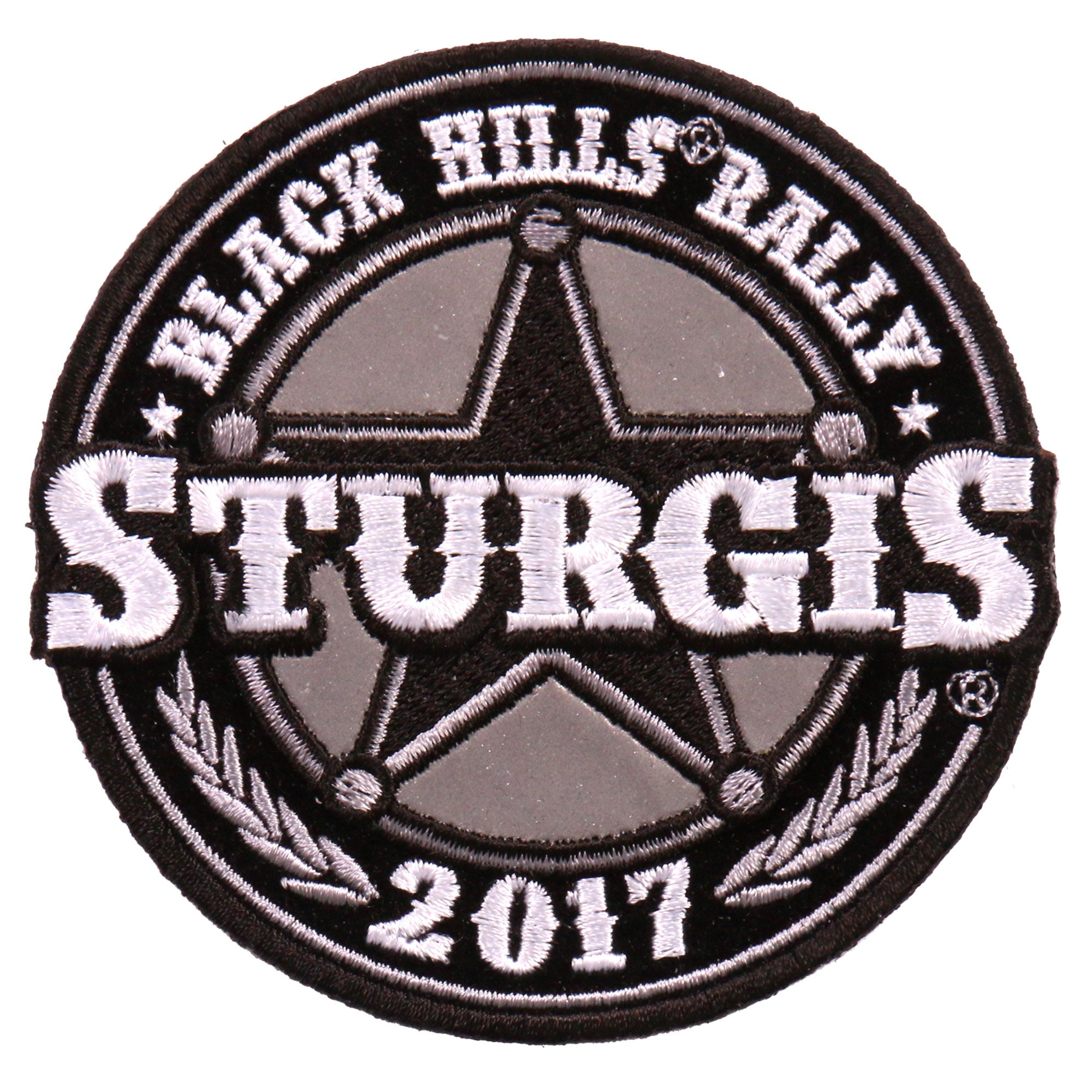 Official 2017 Sturgis Motorcycle Rally Sheriff Badge Patch