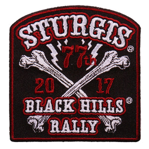 Official 2017 Sturgis Motorcycle Rally Big Bones Patch