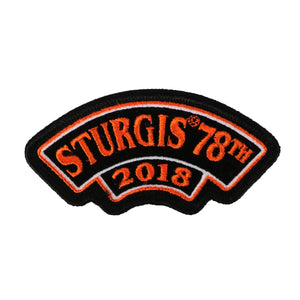 Official 2018 Sturgis Motorcycle Rally 78th Year Patch