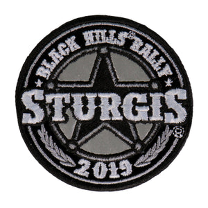 Official 2019 Sturgis Motorcycle Rally Sheriff Patch