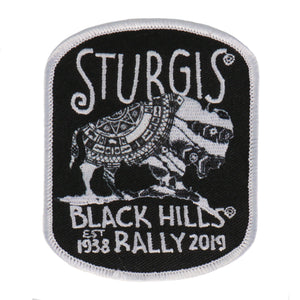 Official 2019 Sturgis Motorcycle Rally Buffalo Symbol Patch