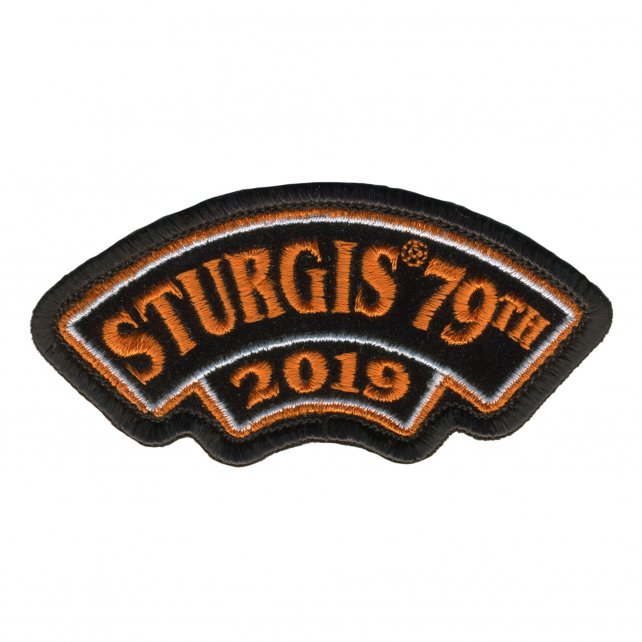 Official 2019 Sturgis Motorcycle Rally Rocker Patch
