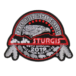 Official 2019 Sturgis Motorcycle Rally Composite Patch