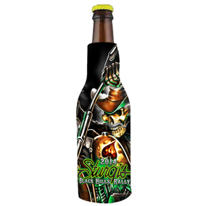 Official 2014 Sturgis Motorcycle Rally Wild Bill 1 Design Bottle Wrap
