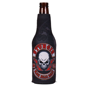Official 2017 Sturgis Motorcycle Rally Rocker Skull Bottle Wrap