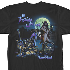 Official Sacred Steel Indigo Moon Shirt