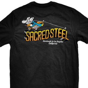 Official Sacred Steel Hound Dog T-Shirt