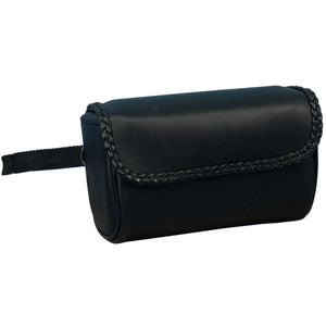 Hot Leathers PVC Motorcycle Tool Bag with Braid