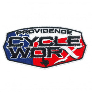 Official Providence Cycle Worx Texas Flag Logo Patch