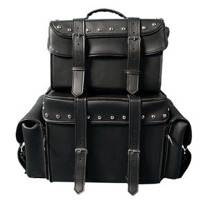 Hot Leathers 2 Piece PVC Travel Bag