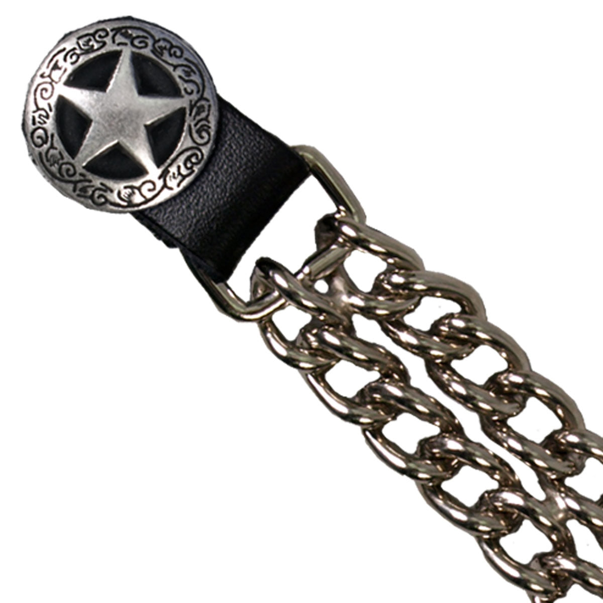 Hot Leathers Western Star Chain Vest Extender