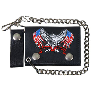Hot Leathers Support Our Troops Wallet