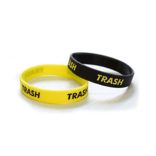 Trash wristband pack
