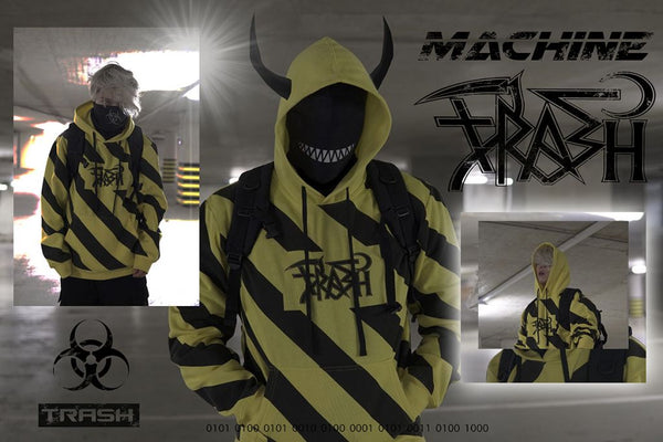 WARNING TRASH GANG HOODIE (COMING SOON)