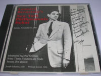 Leonard Bernstein's New York Philharmonic Debut / Sunday, November 14, 1943