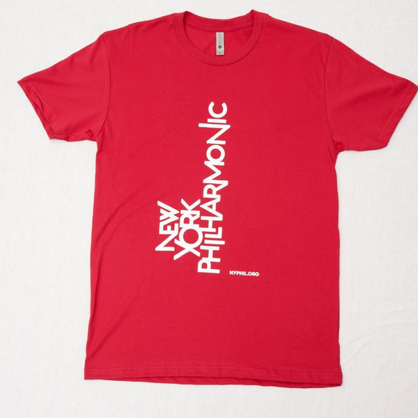 New York Philharmonic Logo Short Sleeve T-Shirt