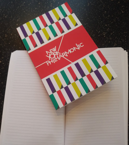 New York Philharmonic Notebook-Lined Paper