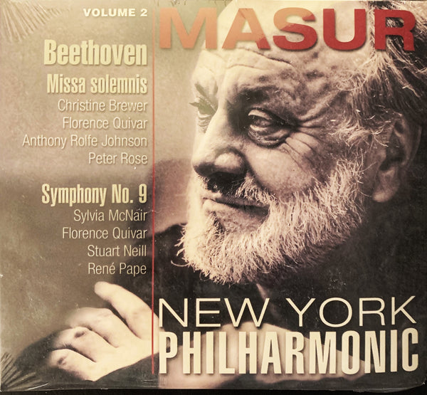 Kurt Masur at the New York Philharmonic, Volume 2