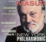 Kurt Masur at the New York Philharmonic, Volume 3