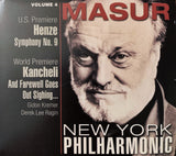 Kurt Masur at the New York Philharmonic, Volume 4