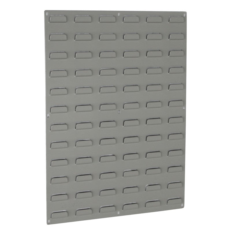 large louvred panel wall for storage