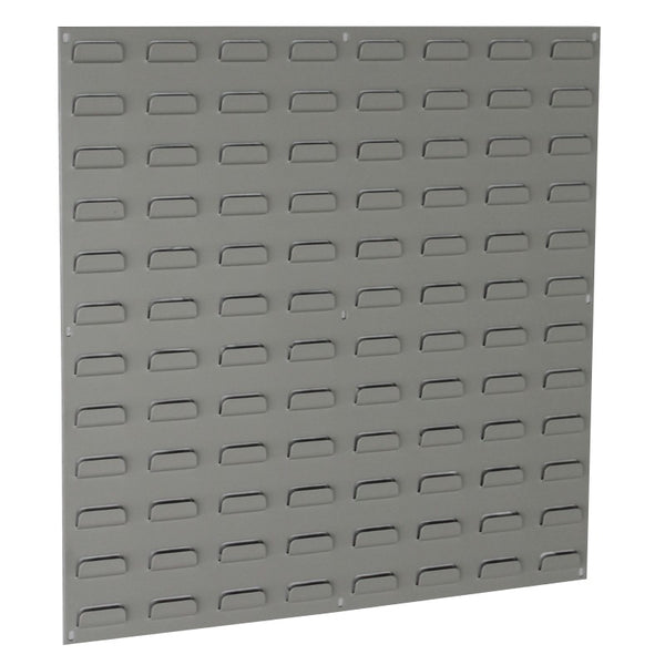large louvred panel wall storage containers